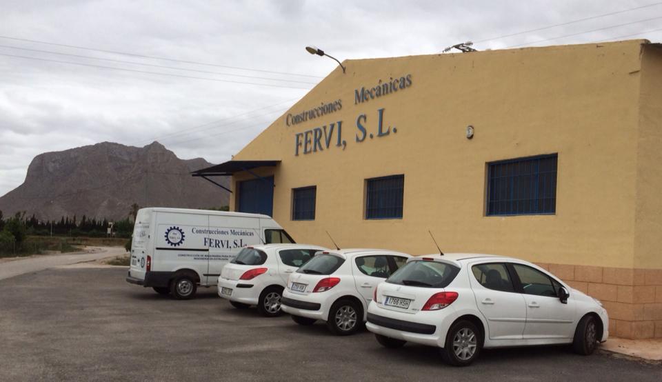 Instalaciones de Construcciones Mecánicas Fervi, S.L.