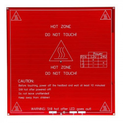 Cama caliente 200x200mm.