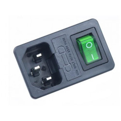 Enchufe IEC320 C14 con...