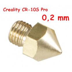 Nozzle 0,2 para CR-10S Pro