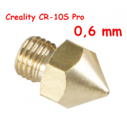 Nozzle 0,6 para CR-10S Pro