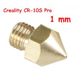 Nozzle 1mm para CR-10S Pro