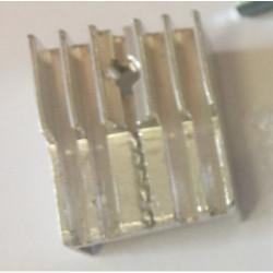 Disipador transistor cama...