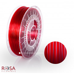 ROSA3D PETG Red Transparent